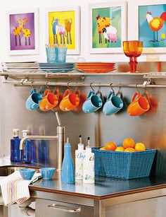 This would be so cute with our Fiestaware! :)