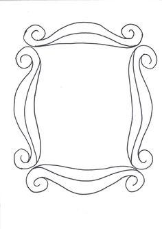 Desenho Moldura