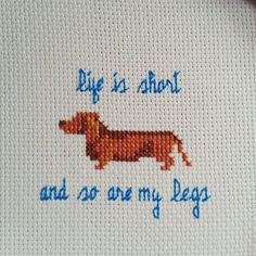 This listing is great for any dog lover and owner! Makes a perfect gift for anyone who loves dachshunds. This PATTERN is a JPEG image and has