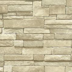 The Wallpaper Company 8 in. x 10 in. Neutral Stone Wallpaper Sample-WC1281976S - The Home Depot