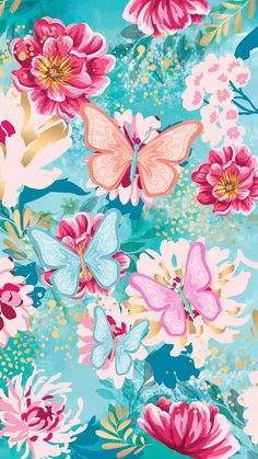 Spring butterflies wallpaper by Hello Spring - 01f9 - Free on ZEDGE™