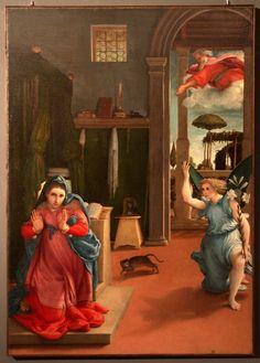 #invasionidigitali: 27 Aprile alle 21:00 - Recanati LORENZO LOTTO: Annunciazione (1532)