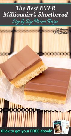 The Step by Step Guide to Making The Best Millionaire's Shortbread | millionaire shortbread, millionaires shortbread, millionaire shortbread recipe, millionaires shortbread recipe #millionaireshortbread #millionairesshortbread #caramelslice #caramelshortb