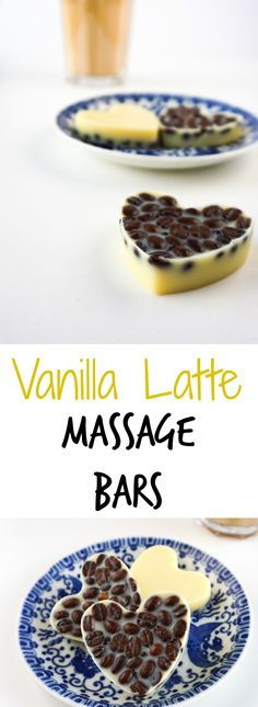 These lotion bars smell amazing! Quick and easy Tutorial on How To make Coffee Beans Vanilla Latte Massage Bars - inspired by LUSH! DIY by The Makeup Dummy