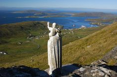 'madonna and child', the heaval overlooking castlebay, barra, the outer hebrides