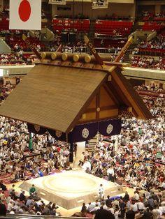 Tokyo's Ryogoku Sumo Stadium during Sumo Tournament by Viator.com