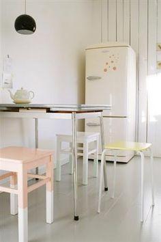 Powdery pastel kitchen by kathryn