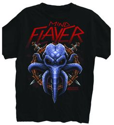 Dungeons & Dragons: Mind Flayer T-Shirt Black