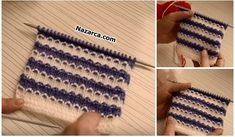 ŞİŞ İLE ÖRÜLEN EN KOLAY ÖRGÜ ÇOCUK BOLERO (RESİMLİ ANLATIMLI) | Nazarca.com Baby Mermaid, Crochet For Kids, Cross Stitching, Baby Kids, Diy And Crafts, Cross Stitch Patterns, Weaving, Knitting, Moda Emo