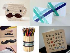 Confira as dicas de DIY de presentes dia dos pais! São várias ideias de cartões e presentinhos para agradar os papais nessa data. Daddy, Playing Cards, Gift Ideas, Craft, Cards, Game Cards, Playing Card