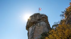 The crown jewel of the North Carolina State Parks:  Chimney Rock.