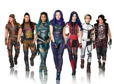 Descendants 3 Exclusive: Go Behind the Scenes of the Big Finale - - Exclusive! See Dove Cameron, Cameron Boyce, Sofia Carson and more at work on the big number. The Descendants, Descendants Pictures, Descendants Characters, Descendants Costumes, Descendants Videos, Dove Cameron Descendants, Cameron Boyce, Cheyenne Jackson, Mal And Evie