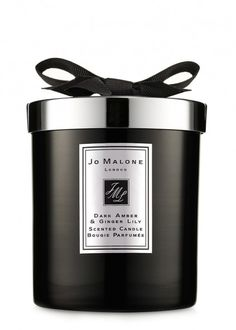 Dark Amber & Ginger Lily Home Candle 200g - Gifts Under £150 - Gifts For Her - Gifts & Home