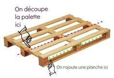 bricolage creer du mobilier de jardin avec des palettes. Black Bedroom Furniture Sets. Home Design Ideas