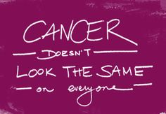 """5 Things People With Cancer Want You to Know"" .. read more at ihadcancer.com #IHadCancer"