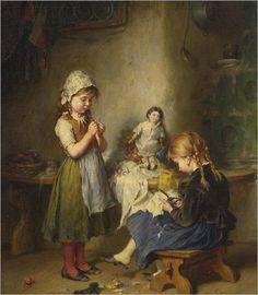 *The little seamstress - Heinrich Hirt*