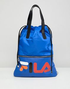 48108bb581 Fila Crow Blue Tote Shopper With Detachable Straps. Fashion  OnlineAsosBackpacksBlueShoppingAccessoriesOutfitsClothesWallets