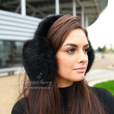 2015 New Big Luxury Fake fox Fur Earmuffs Earflap Earcap Keep Warm Gifts