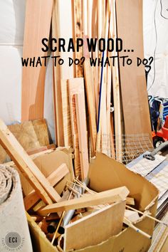Scrap Wood DIY Project ideas
