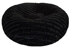 BESSIE AND BARNIE 60Inch Bagel Bed for Pets XLarge Black Puma * You can get additional details at the image link.-It is an affiliate link to Amazon. #DogBedsFurniture