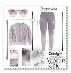 """""""Casefity 15/15"""" by arijanagetos55 ❤ liked on Polyvore featuring Chicwish, Casetify, Jimmy Choo, Anja and York Wallcoverings"""