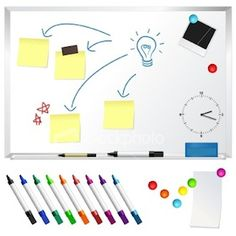 Paint a magnetic whiteboard anywhere you want one