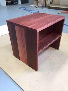 Custom Made Side Table Solid Jarrah Aus Futons