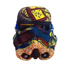 Stormtrooper Helmets Redesigned By Leading Artists - 'iPod Invader' Yinka Shonibar