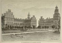 Czernowitz, erzbischöfliche Residenz um 1899