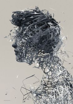 Dynamic digital artworks created by Polish artist Janusz Jurek.  More illustrations via Behance