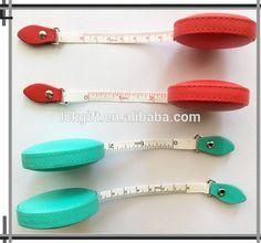 Custom Logo Embossed PU mini Measuring Tape