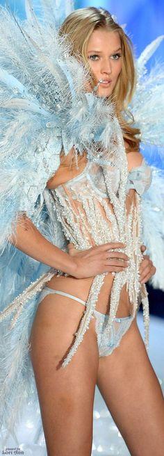 Model: Toni Garrn for Victoria's Secret Fashion Show 2013
