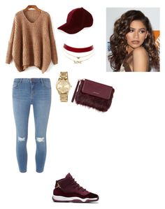 """""""Untitled #124"""" by lavishdi on Polyvore featuring Dorothy Perkins, Berry, MICHAEL Michael Kors, Charlotte Russe, Coleman and Karen Millen"""