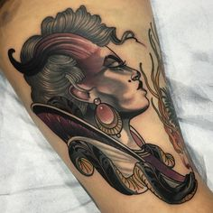 Another one from @arttattoomontreal on @alannamule . Thank you again