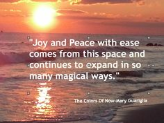 """My chapter, """"Stepping Into The Colors Of Now""""  http://www.SeekYourJoy.com"""