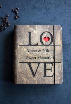 Wedding Couple Anniversary Gift Love Notebook Custom Guest Book Wedding Keepsake Custom name Personalized Diary Writing Hardcover journal