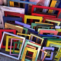 Colorful Frames!  Islands Framing Gallery in Savannah, GA is a premiere custom framing shop with years of experience in the business, attention to detail, and phenomenal customer service! Call (912) 898-8470 or visit our website www.islandsframing.wordpress.com for more information!