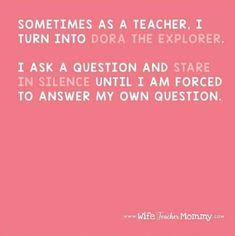 Dora The Explorer, Teacher, This Or That Questions, Professor