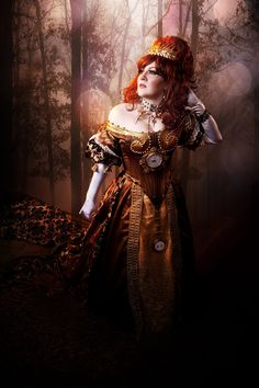 Steampunk its more than an aesthetic style, it's the longing for the past that never was. In Steampunk Girls we display professional pictures, and illustrations of Steampunk, Dieselpunk and other. Steampunk Dress, Steampunk Wedding, Steampunk Costume, Steampunk Clothing, Steampunk Fashion Women, Gothic Fashion, Vintage Fashion, Women's Fashion, Vintage Goth