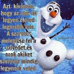 Olaf, Happy New Year, Scrapbook, Disney Characters, Winter, Funny, Cards, Figurative, Winter Time