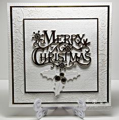 dutchess: Christmas card club challenge as the focal point - Winter Combinations Fashion Christmas Cards 2018, Homemade Christmas Cards, Christmas Gift Bags, Handmade Christmas, Holiday Cards, Christmas Vacation, Christmas 2019, Xmas Cards Handmade, Half Christmas