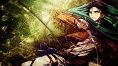Shingeki no Kyojin Wallpaper - Rivaille / Levi by umi-no-mizu on DeviantArt