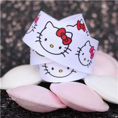 kitty ribbon
