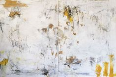 """Organic Geometry #35 by Nancy Hillis, acrylic and graphite on paper, 33"""" x 40"""""""