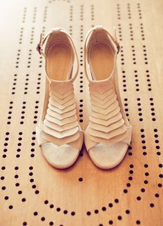 Bridal Style: Neutral Colored High Heels are a Perfect Fit for your Wedding Day - Wedding Party