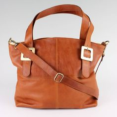 tan leather handbag tote by the leather store | notonthehighstreet.com