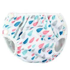 e7bb287a7aa Bumkins Swim Diaper - Raindrop Reusable Diapers