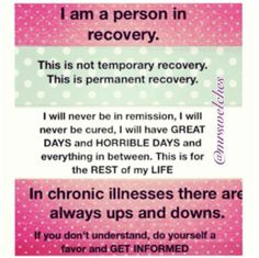 learning to live with lupus / chronic illness
