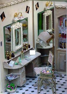 Beauty Salon in 1/12 scale miniature