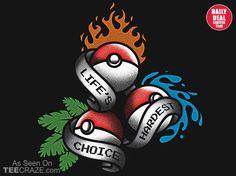 Life's Hardest Choice T-Shirt - http://teecraze.com/daily-deal-2/ -  Designed by BrandonWilhelmART